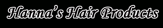 Hanna's Hair since 1996 specialized in hairextensions and salon products